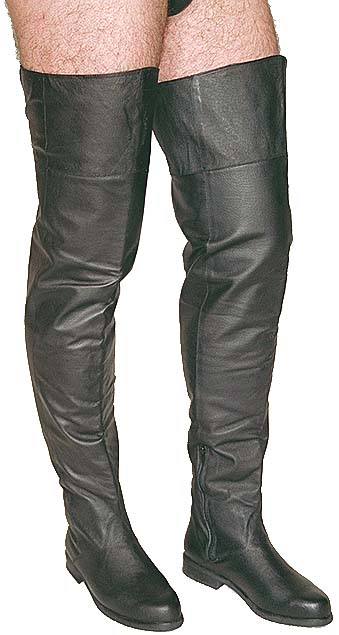 WTF: Men's Thigh High Boots?!   The