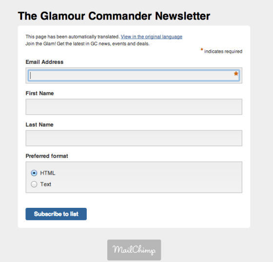 glamour-commander-newsletter